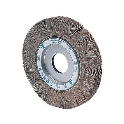 1 Arbor Hole 6 Diameter x 1-1//2 Width PFERD 45612 Unmounted Flap Wheel 6300 RPM 60 Grit 6 Diameter x 1-1//2 Width 1 Arbor Hole PFERD Inc. Aluminum Oxide