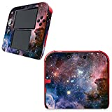 UUShop Skin Sticker Vinyl Decal Cover for Nintendo 2DS System Console - Galaxy