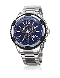 August Steiner Men's Quartz Stainless Steel Casual Watch, Color:Silver-Toned (Model: AS8229SSBU)
