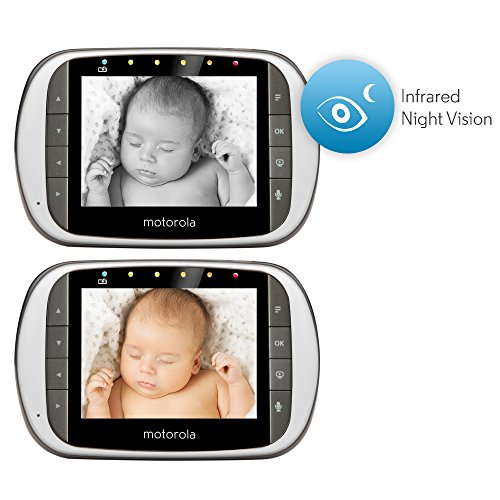 motorola mbp853connect dual mode baby monitor with 3 5 inch lcd parent monito. Black Bedroom Furniture Sets. Home Design Ideas