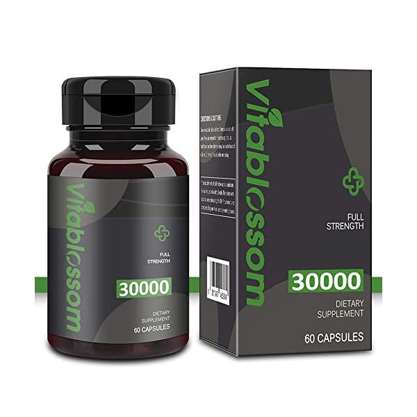 Capsules 30000MG, High-Strength Cold-Pressed, 100% Natural Formula – Rich in Omega 3, 6, 9 (1PCS)