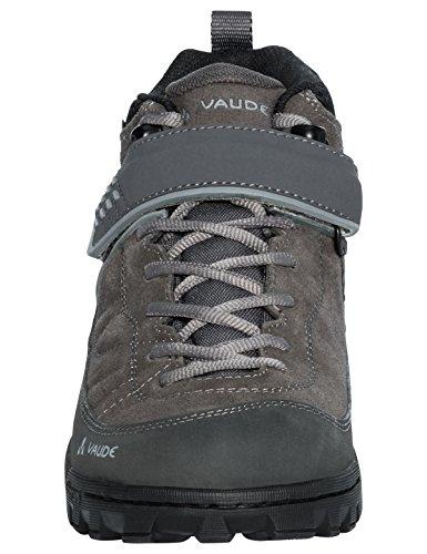 VAUDE Moab Mid STX Am, Scarpe da Mountainbike Unisex – Adulto Grigio (Iron 844)