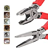 VamPLIERS. World's Best Pliers. 2-PC Set S2J Specialty Screw Extraction Pliers. Extract Stripped Stuck Security, Corroded, or Rusted Screws