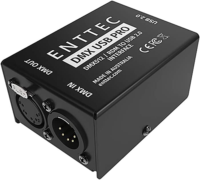 Enttec DMX USB Pro 70304 RDM Lighting Controller Interface