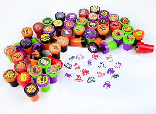 50-Pieces-Halloween-Assorted-Stamps-Kids-Self-Ink-Stamps-25-DIFFERENT-Designs-Plastic-Stamps-Trick-Or-Treat-Stamps-Spooky-Stamps-for-Halloween-Party-Favors-School-Prizes-Halloween-Goodies