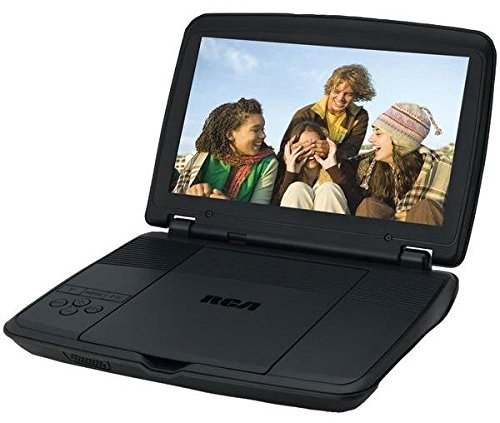 RCA DRC96100 10-Inch Portable DVD Player with Rechargeable Battery, Black (Certified Refurbished) (Rca 10 Portable Dvd Player compare prices)