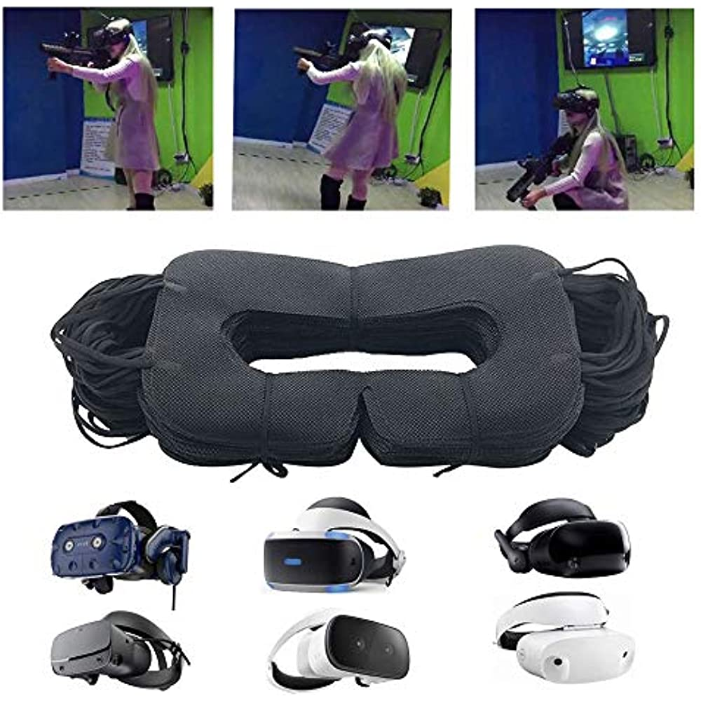 vr mask 100pcs disposable face cover mask