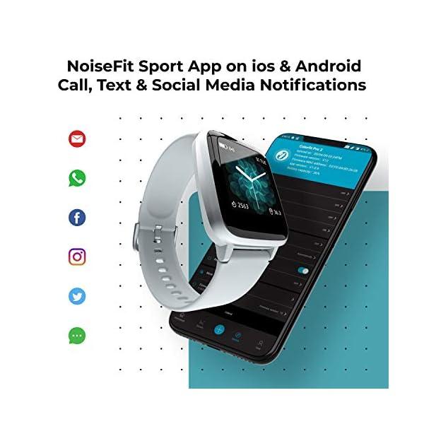 51KjABySN2L Noise Colorfit Pro 2 Full Touch Control Smart Watch (Teal Green)