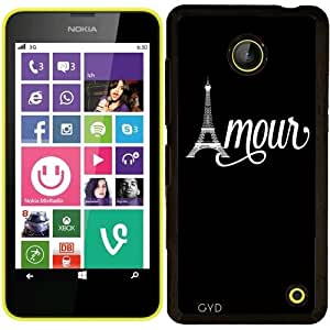 Funda para Nokia Lumia 630 - Amo París by wamdesign
