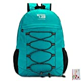 25L/30L/35L SOMISS Water Resistant Lightweight Packable Foldable Daypack Backpack (25L, FRUIT GREEN)