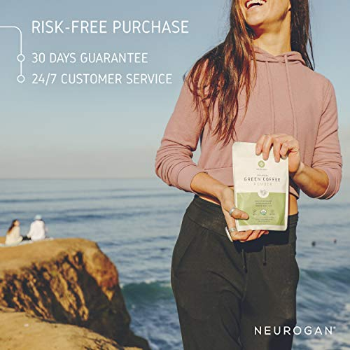 Neurogan Green Coffee Bean Powder 200g - Organic Pure Extract for  Metabolism Boost, Potent Weight Loss Management, Overall Health  Improvement, and