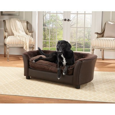 Enchanted Home Pet Panache Dog Bed, Brown, Medium