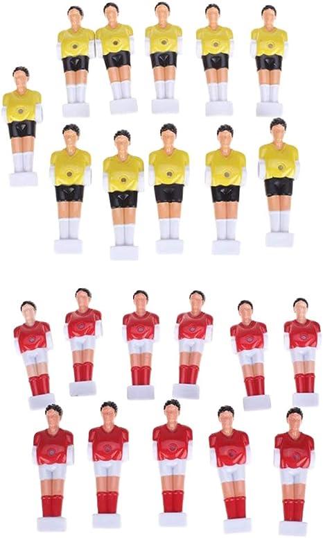 MagiDeal 22pcs Foosball Table Player Hombres Reemplazo Mesa ...