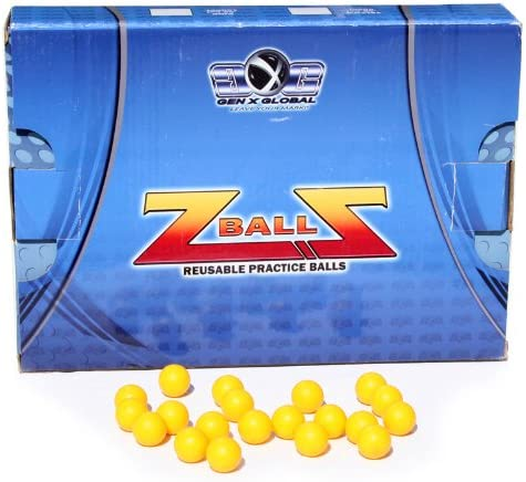 4. GXG Rubber Reusable Paintballs