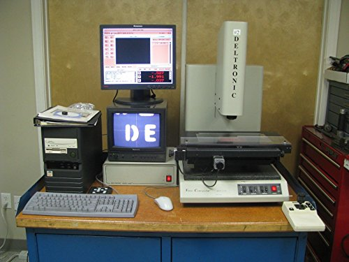 "Deltronic DVC-120 Video Measuring Machine .00005"" MPC-6 Software"