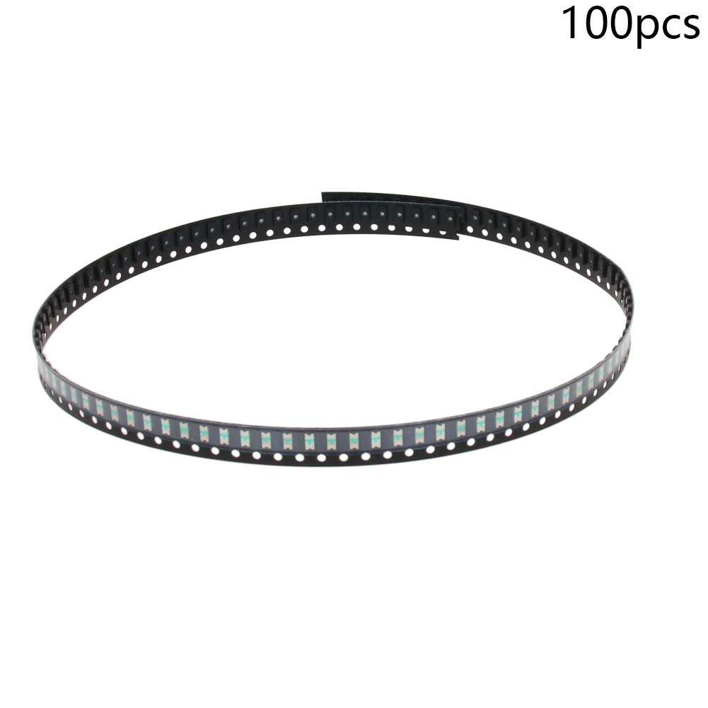 Othmro SMD LED 40 pcs Red Diode Lights Super Bright Lighting Bulb Lights Chips Emitting Diodes 2V 15-20mA