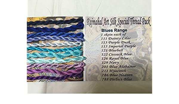 96 White Rajmahal Thread Art Silk Floss Skein