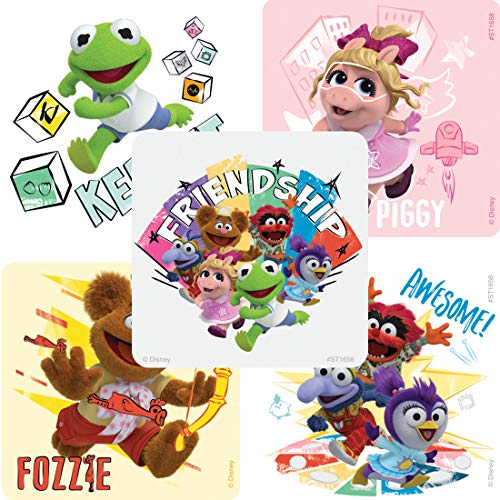 SmileMakers Muppet Babies Stickers - Prizes 100 per Pack