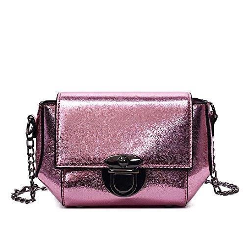 Violet Bag Version Bag la Fairy coréenne chaîne Messenger Sac Lock Wild Nouvelle de Petit épaule carré ZHRUI Simple Tqfpp