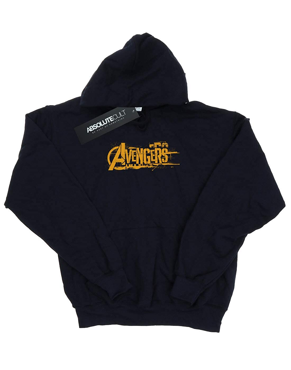 Avengers Girls Infinity War Orange Logo Hoodie