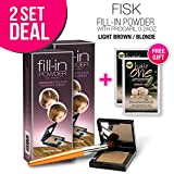 2-PACK Cover Your Gray Fill-in Powder with Procapil, (Light Brown/Blonde) with Free Sulfate-Free Shampoo Review