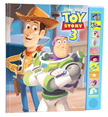 Toy Story 3 Play-a-Sound Book