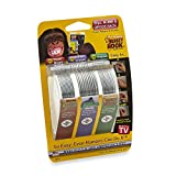 Monkey Hook M-V0030-6-SS30 Picture Hanger Home And Office Pack - As Seen On TV