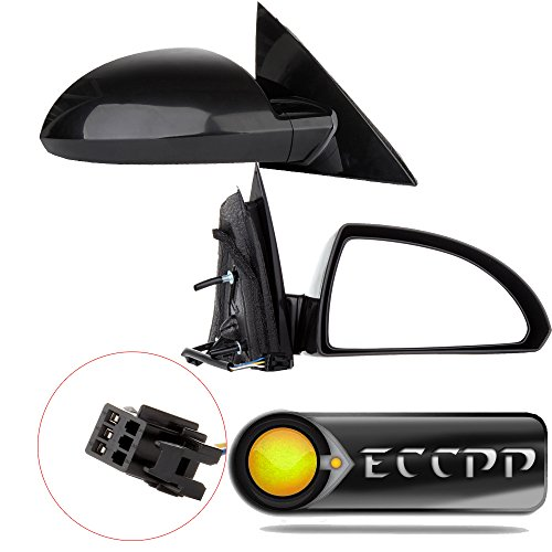 ECCPP New Power Side View Mirror Driver & Passenger Side(A Pair) Replacement fit for 06-13 Chevy Impala 2014-15 Limited 08034-932 15789251 CV38EL GM1320306 ()
