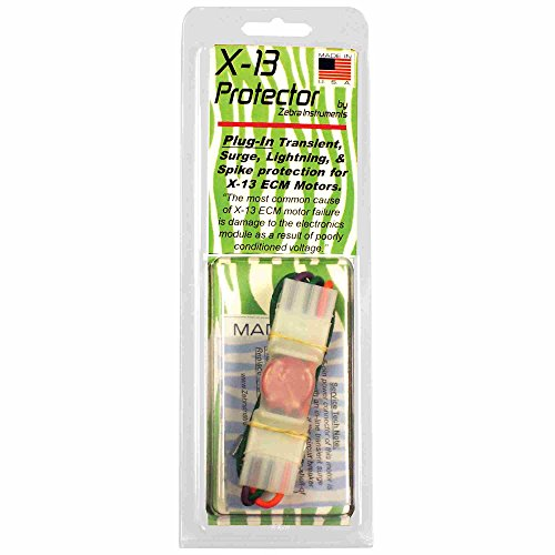 Zebra Instruments , X13PR X-13 & EVERGREEN Motor Protector Surge Protection  for 120-240V