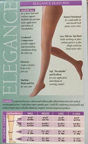 - Mediven Elegance 16-20mmHg Maternity Pantyhose X-Large Sand - 92984
