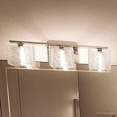 reputable site 876ed f6b2c Luxury Modern Bathroom Light, Medium Size: 6.75