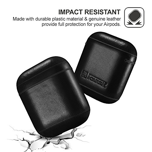 AirPods-Leather-CaseICARER-Genuine-Leather-Protective-Shockproof-Cover-for-Apple-AirPods-Charging-Case-Black