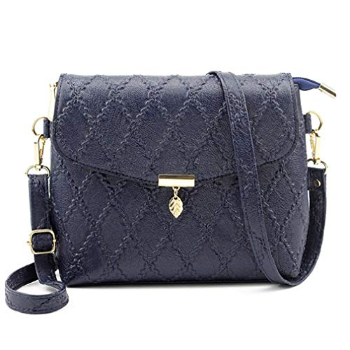 de Black Messenger Mujer Blue Navy Bags Shoulder Bagcross Bolsos Ad6vYnR6