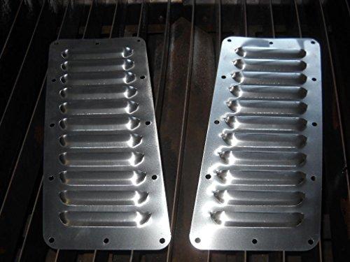 RodLouvers Pair of Angled Aluminum 5