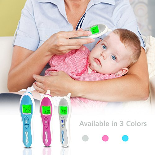 Pyle Digital Ear Medical Smart Thermometer - Sensitive Infrared Readings Safe and Easy for Babies Adults or Children - Detect Fevers and Wirelessly Track Readings with Apple/Android Pyle Health Mobile App Using Bluetooth by Pyle (Image #4)