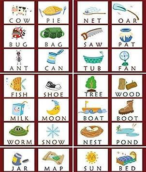 Puzzlespiel f/ür fr/ühe p/ädagogische Spielzeuge MJTP 3-in-1-Lernspiel f/ür fr/ühe kognitive Buchstaben englisches Alphabet-Kartenspiel aus Holz