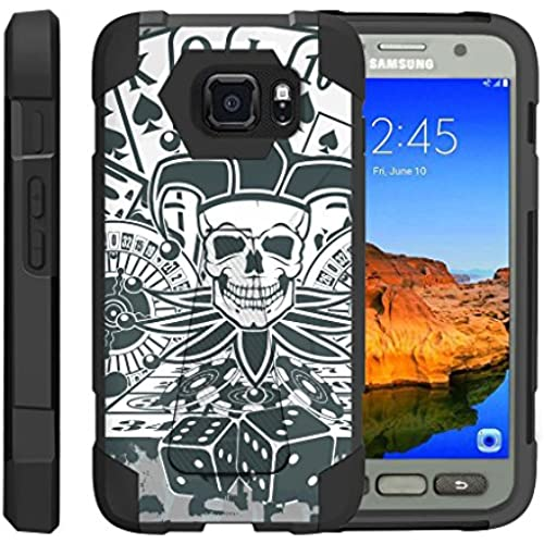 TurtleArmor | Samsung Galaxy S7 Active Case | G891A [Dynamic Shell] Dual Hybrid Hard Absorber High Impact Silicone Cover Kickstand Sports and Games Sales
