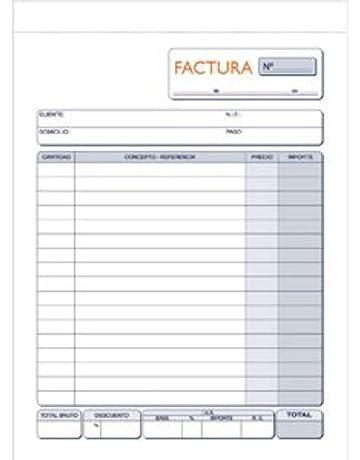 Marino 63/2 - Talonario de facturas 1/4, duplicado autocopia 63/