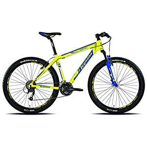 51KjFgGeJNL. SS300 Legnano Ciclo 630 Cortina, Mountain Bike Unisex – Adulto, Giallo, 38