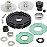 58 tooth spur gear - Losi 1/14 Mini 8ight Buggy * 58T SPUR & 16T PINION GEARS, SLIPPER CLUTCH PLATE *