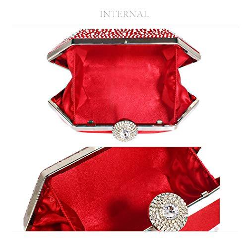 Pour Pochette Anna M Red Femme Grace Rouge FEx5zq8x