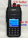 Joyhero TYT Tytera MD-380 DMR Digital Radio,400-480UHF, Up to 1000 Channels, with Color LCD Display, Programming Cable and 2 Antenna (High Gain Antenna in cluded), Black ¡