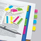 Redi-Tag Write-On Removable Index Tabs, 1-1/16 x 1-1/4 Inches, 48 Tabs per Pack, 4 Assorted Colors (33148)
