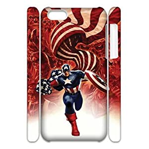 C-EUR Diy 3D Case Captain America for iPhone 5C