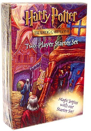 Harry Potter Trading Card Game Two-Player Starter Set (Set Game Card Trading)