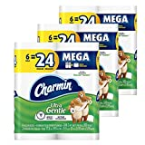 Image of Charmin Ultra Gentle Toilet Paper 6 Mega Rolls (Pack of 3), Packaging May Vary