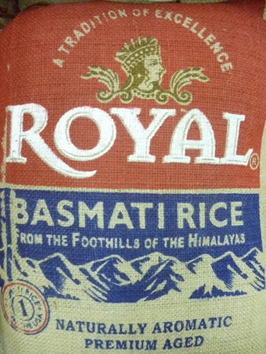 Royal Basmati Rice 40-pound Bag by Royal