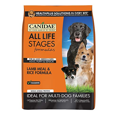 CANIDAE All Life Stages Dog Dry Food Lamb Meal & Rice Formula Review