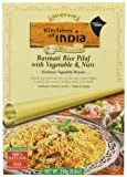 Kitchens Of India Kashmiri Basmati Rice Pilaf with Vegetables & Nuts, 8.8-Ounce Boxes (Pack of 6)