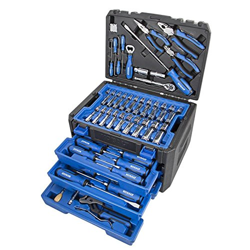 Kobalt 80-Piece Household Tool Set with Hard - Tool Kobalt Household